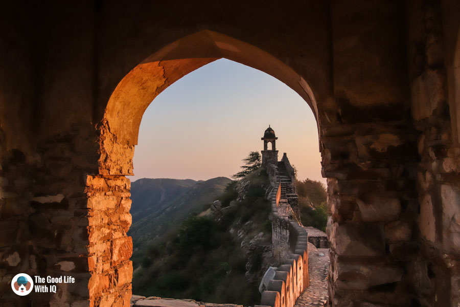 Watchtowers, Amer, Jaipur