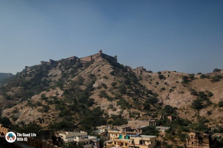 View of Jaigarh, Amber Palace, Jaipur