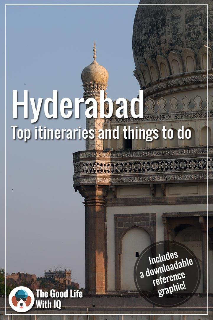 Pinterest thumbnail - Hyderabad itineraries