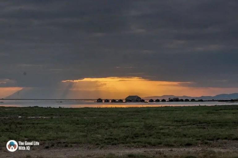 Kenya safari - Amboseli - Abandoned camp