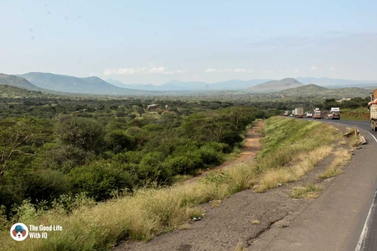 Kenya safari - Amboseli - Highway landscape