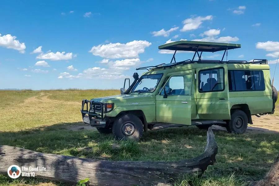 Kenya safari - Masai Mara - Picnic