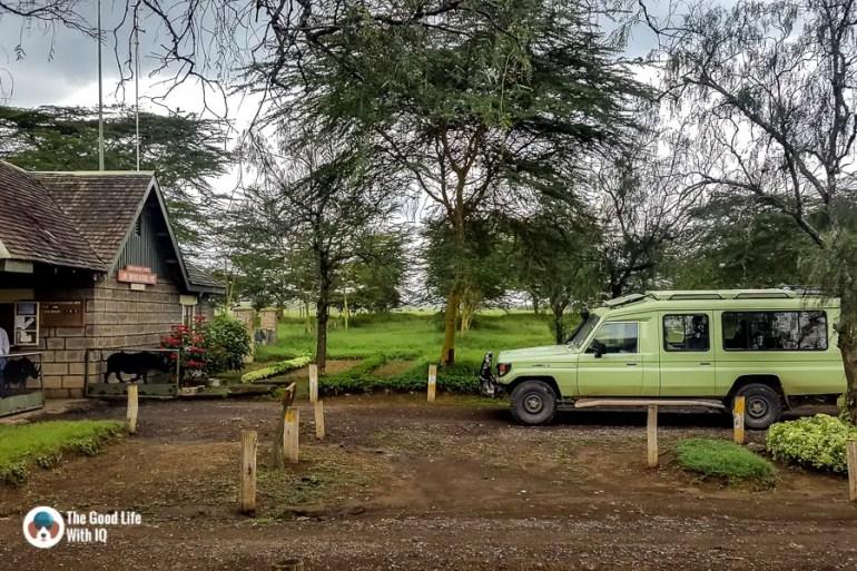 Kenya safari - Nakuru - Entrance