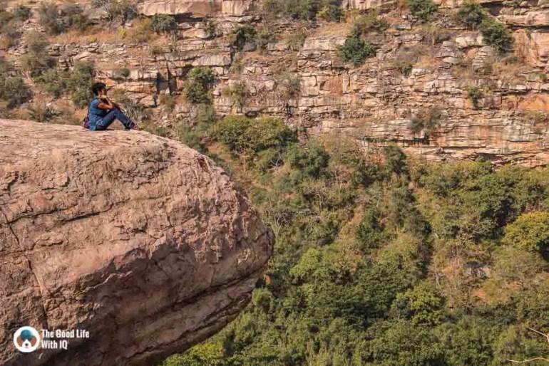 Overhang at Bhimlat gorge, Bundi