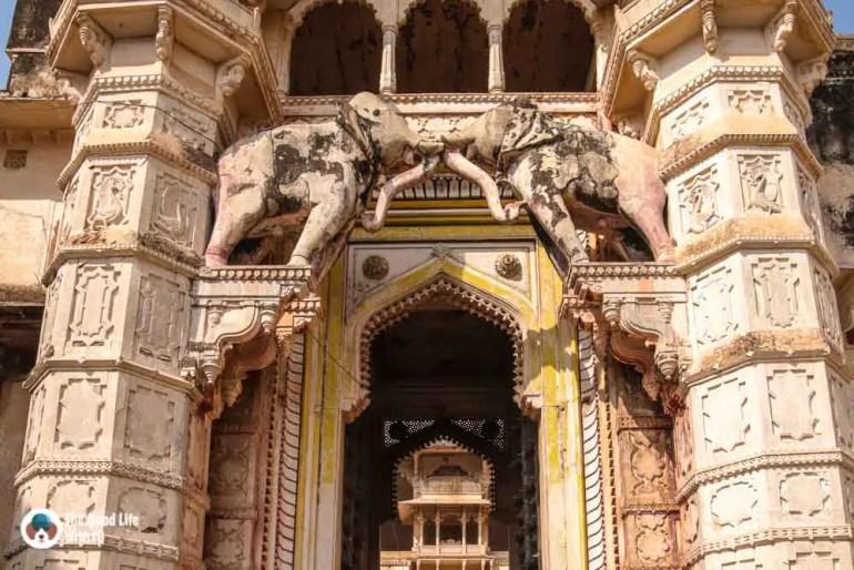 Palace entrance, Garh Palace, Bundi