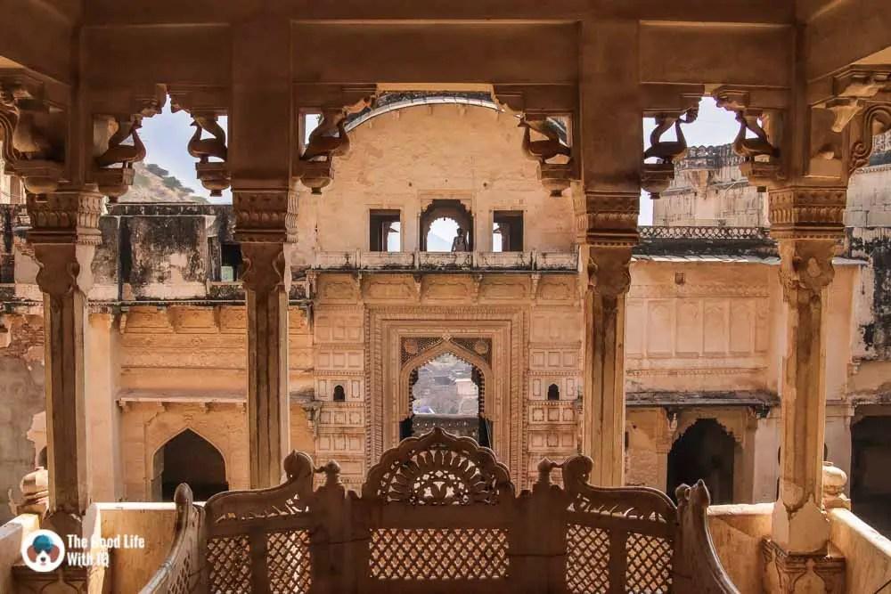 Throne, Garh Palace, Bundi