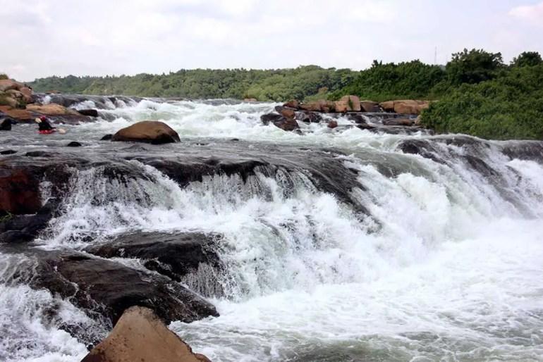 Scary river rapids - Jinja, Uganda