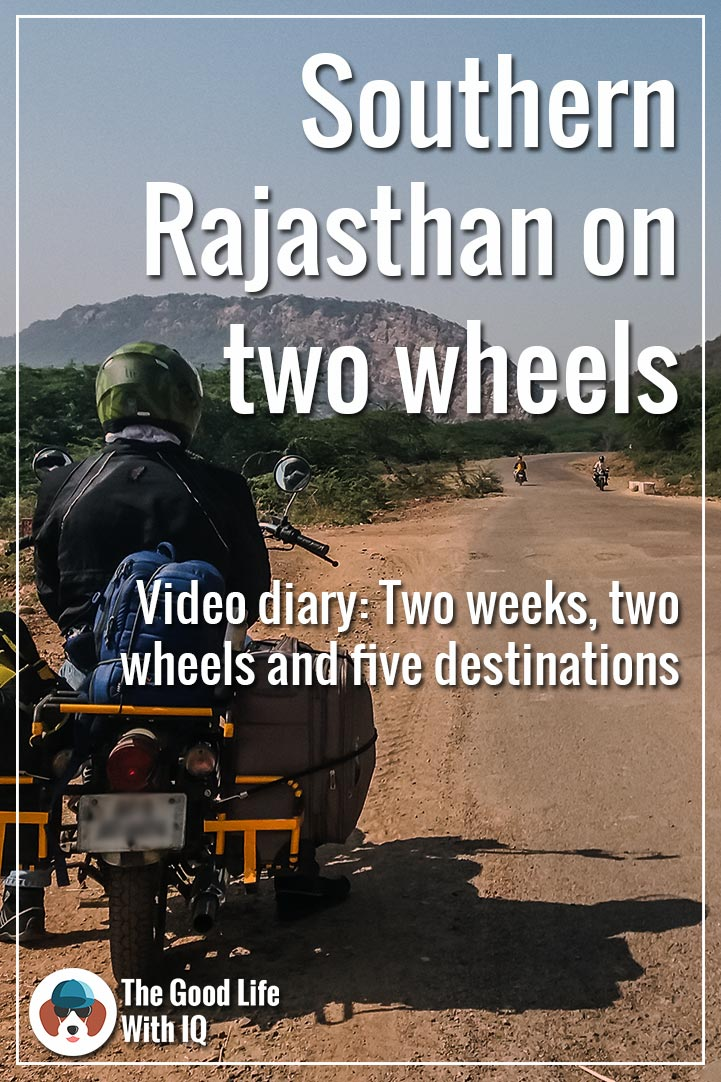 Pinterest thumbnail - Rajasthan ride