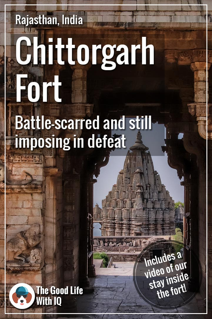 Pinterest thumbnail - Chittorgarh Fort