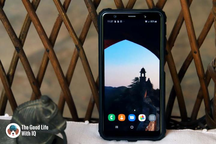 Review: Samsung Galaxy A7 camera phone (2018)