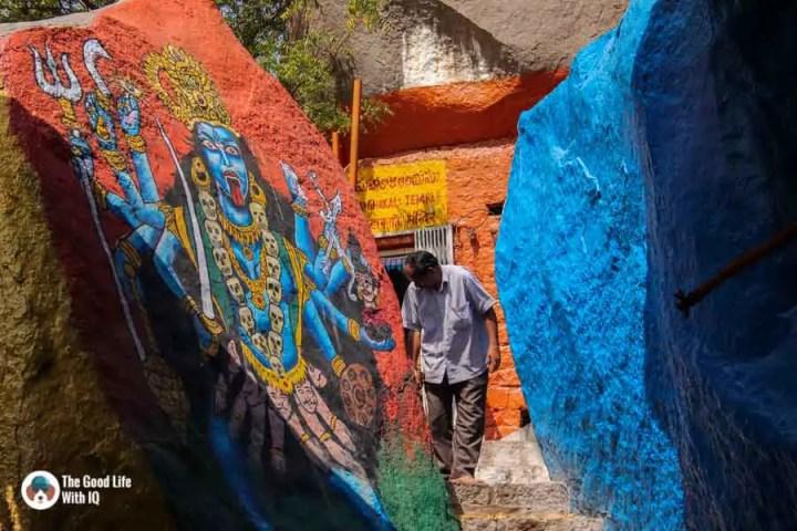 Mahankali Temple, Golconda Fort