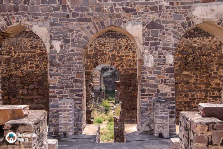 Royal chambers, Golconda Fort