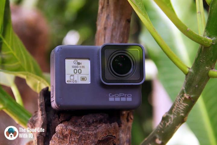 GoPro HERO 5 Black outdoors