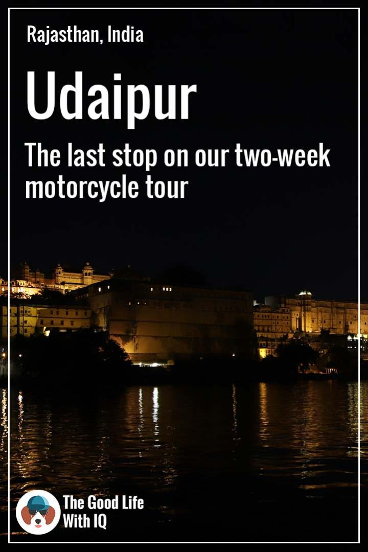 Pinterest thumbnail - Udaipur
