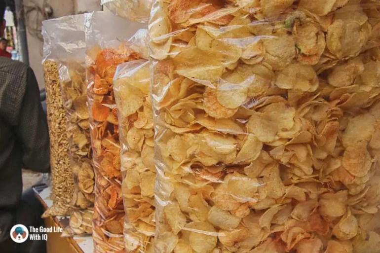 Potato chips, Udaipur