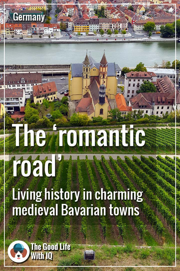 Pinterest thumbnail - Romantic road