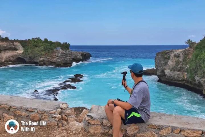 Blue lagoon, Ceningan, Bali