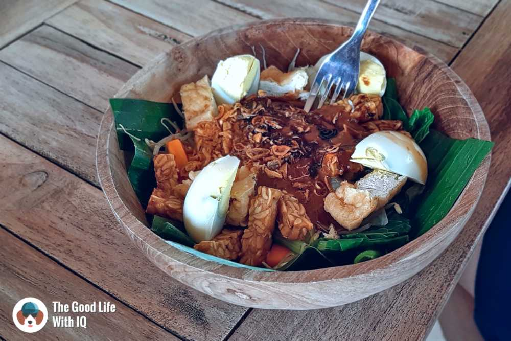 Gado-gado salad, Nusa Ceningan