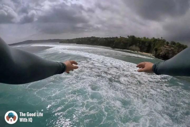 Cliff jump, Mahana Point, Ceningan, Bali