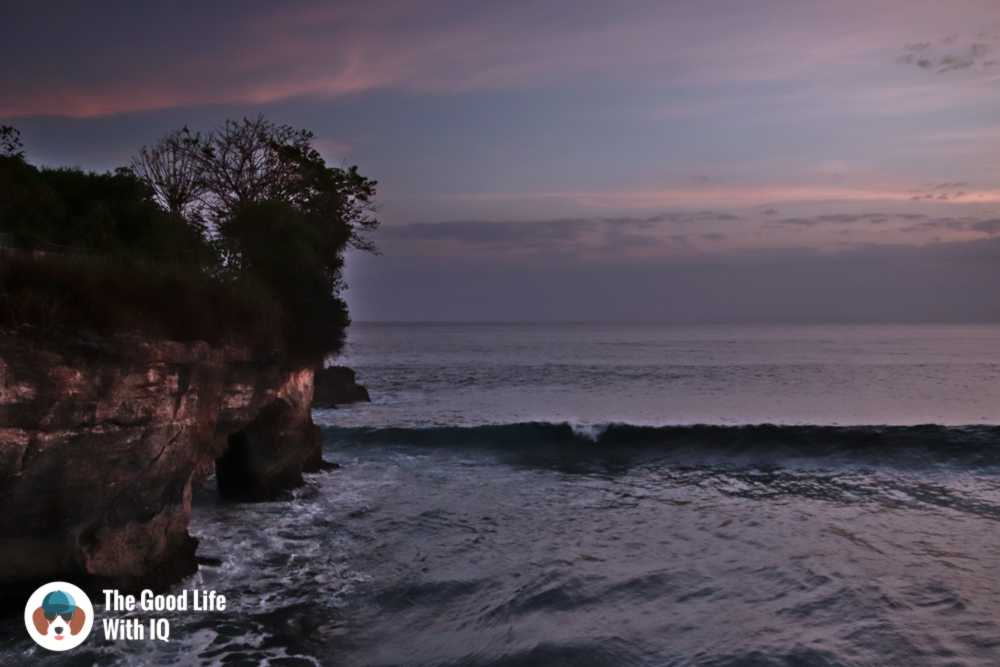 Sunset at Mahana Point, Ceningan, Bali