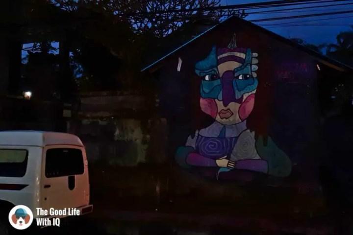 Stree art, Jalan Suweta, Ubud, Bali