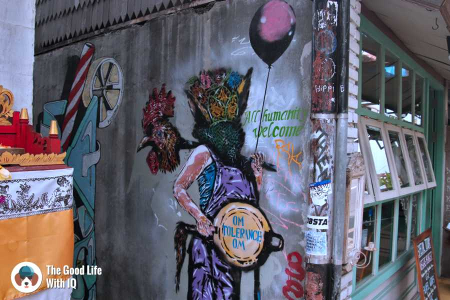 Stree art - Three days in ubud, Bali