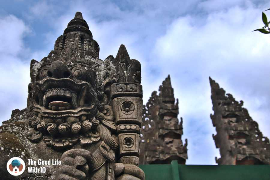 Temple guardian, Ubud, Bali