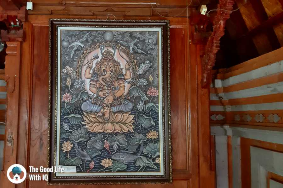 Balinese Ganesha, Warung Bu Rus, Ubud, Bali