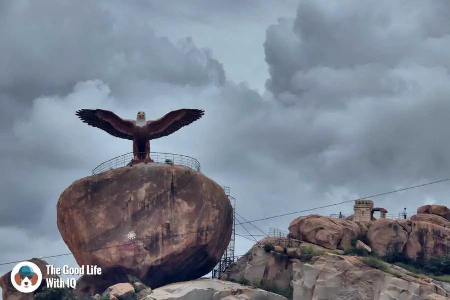 Jatayu statue - Lepakshi