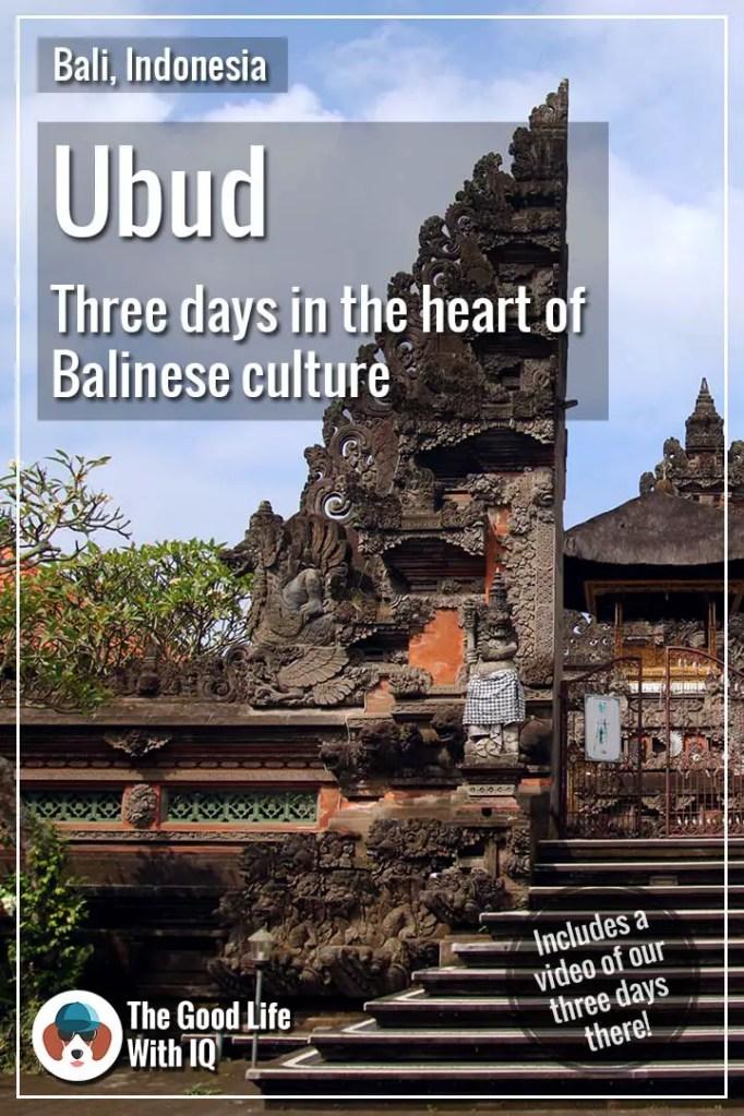Pinterest thumbnail - Ubud, Bali