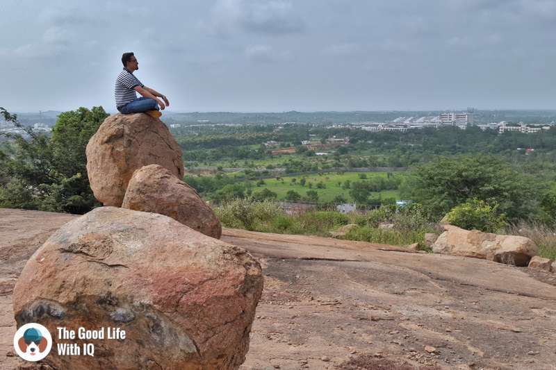 Boulders on Khanapur hill, Hyderabad
