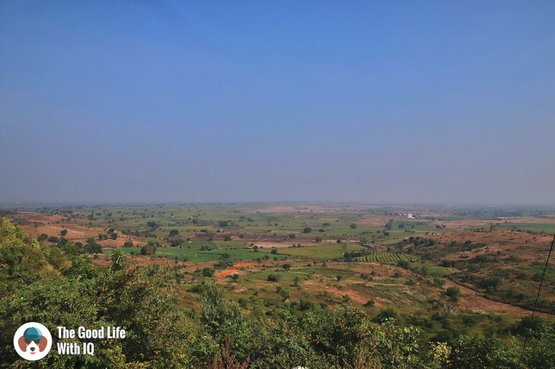 View of plains  - weekend motorbike ride to bidar