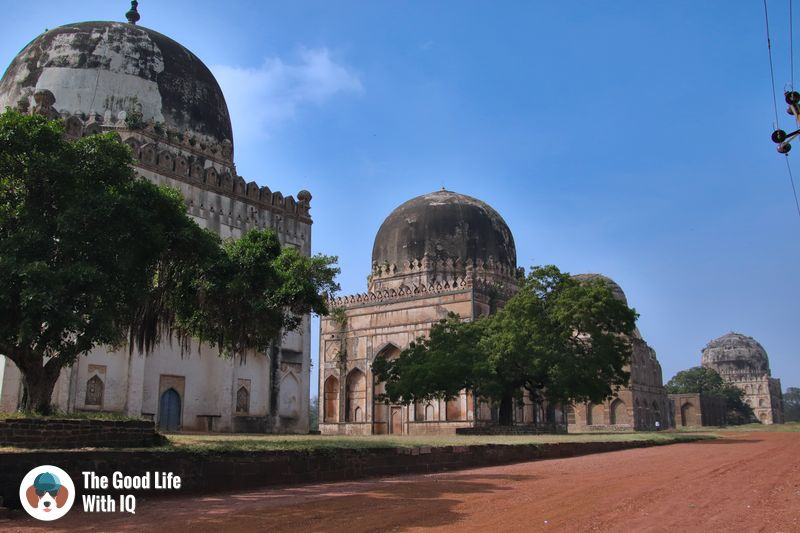 bahmani tombs  - weekend motorbike ride to bidar