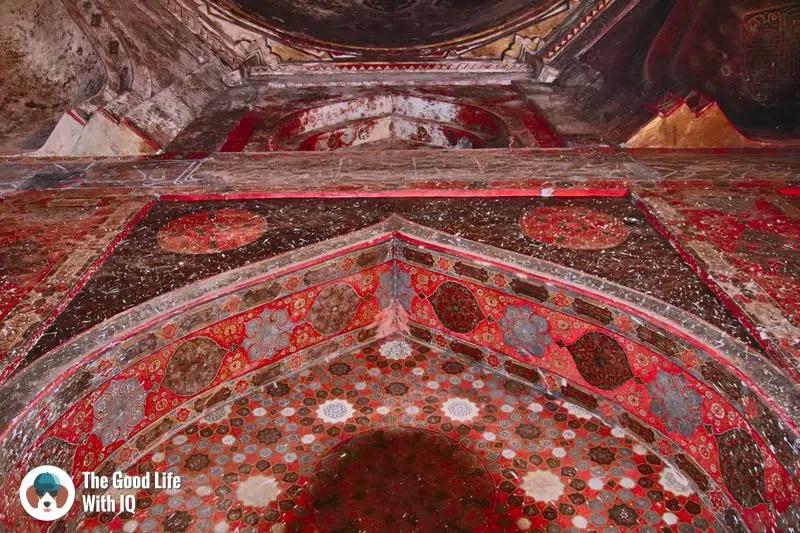 tomb interior - weekend motorbike ride to bidar