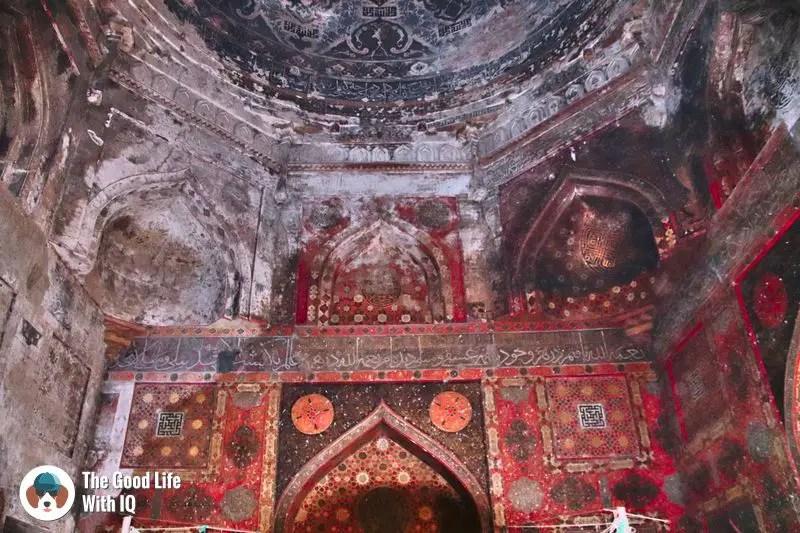 tomb interior - bidar