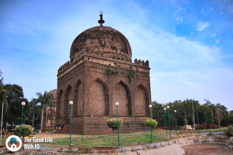 barid shahi park - weekend motorbike ride to bidar