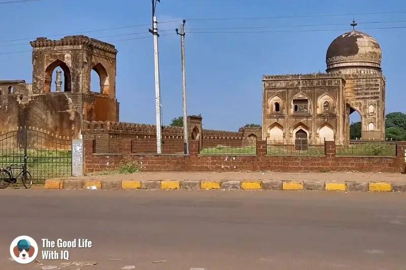 monuments in bidar - Hyderabad to Bidar road trip