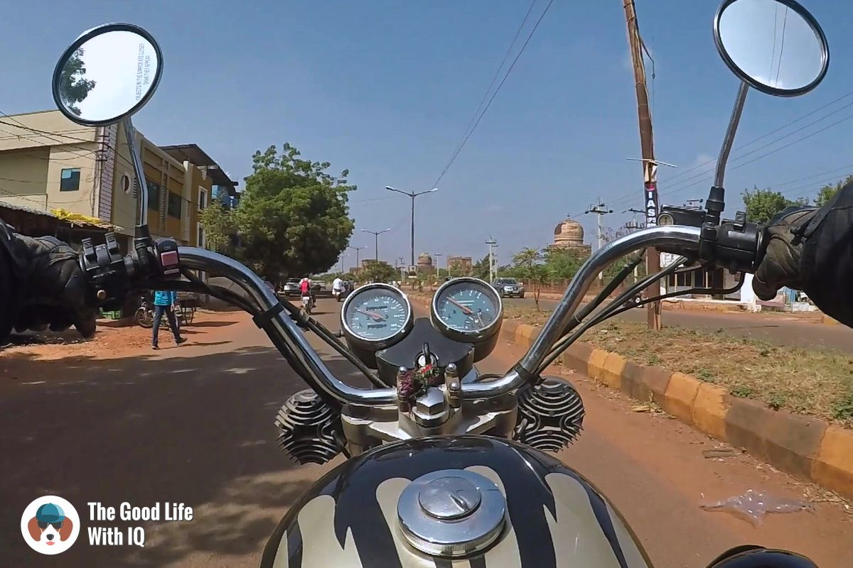 A weekend motorbike trip to Bidar, city of sultans