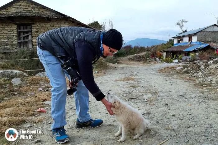 Doggie in Deurali