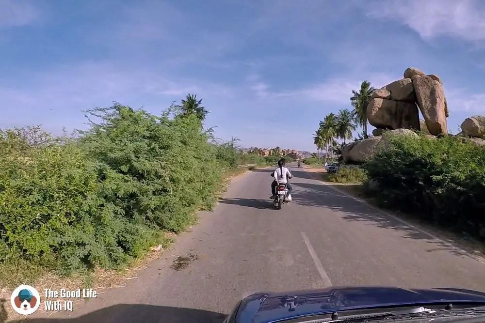 Hampi countryside - Hyderabad to Hampi road trip
