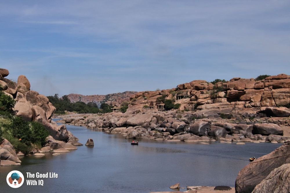 Coracle boats - Hyderabad to Hampi road trip