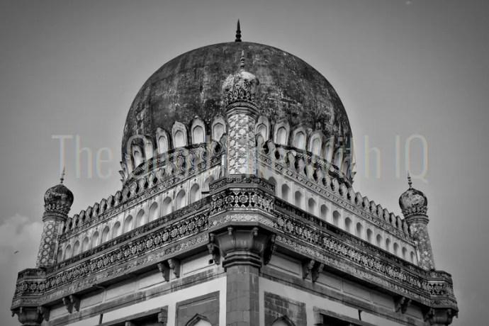 The tomb of Muhammed Quli Qutb Shah, Hyderabad, India