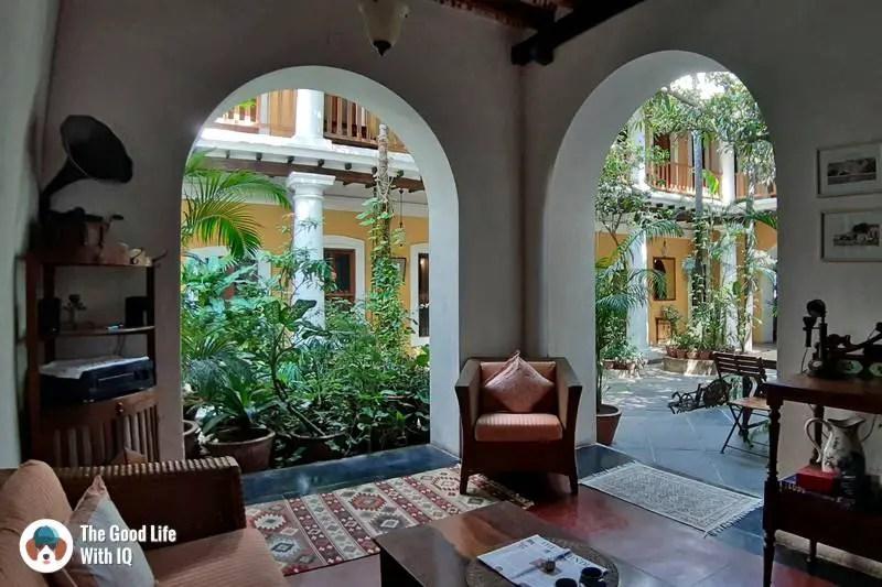 Gratitude Heritage Home, Pondicherry - Sit-out