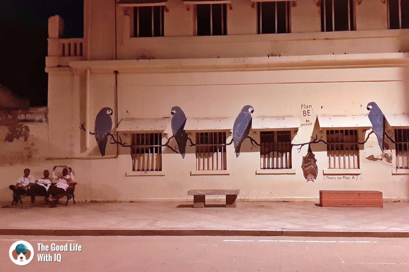 Promenade street art - 3 day trip to Pondicherry