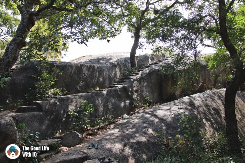 Stairs to nowhere, Mahabalipuram