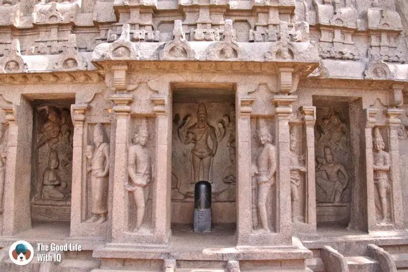 Trimurti Cave, Mahabalipuram - 3 day trip to Pondicherry