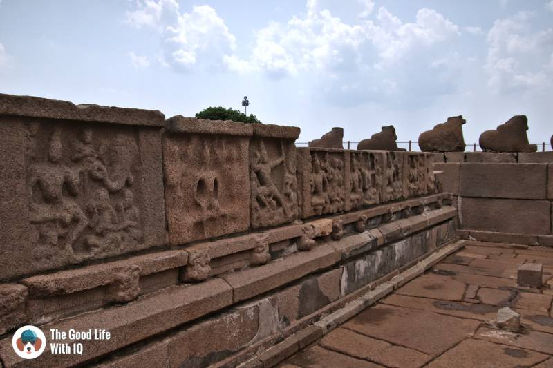 Concourse, Shore Temple, Mahabalipuram