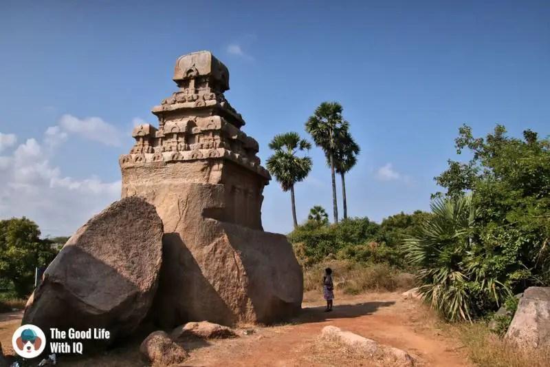 Unfinished temple, Mahabalipuram - 3 day trip to Pondicherry