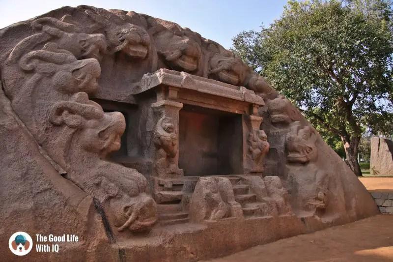 Tiger cave, Mahabalipuram - 3 day trip to Pondicherry