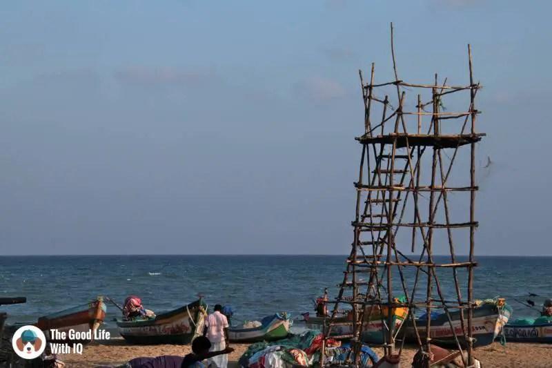 Lifeguard tower on Serenity beach
